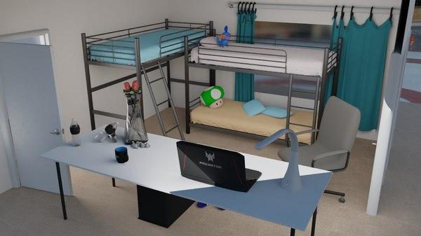 scene apartment 3D model