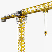 3D tower crane liebherr 250