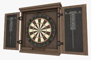 3D darts games model