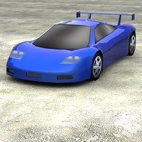 mcclaren 3D model