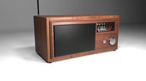 3D classic radio