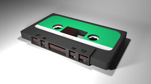 classical cassette tape 3D