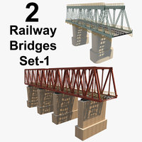 2 Railway Bridges Set_1