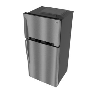3D model refrigerator ff 630l gr