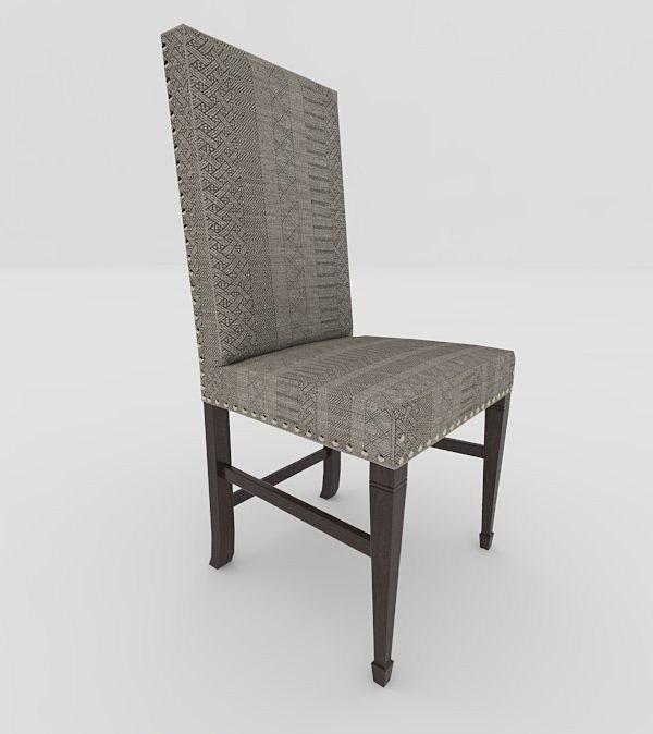 3D seat chair model