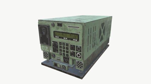 3D radio unit 3 model