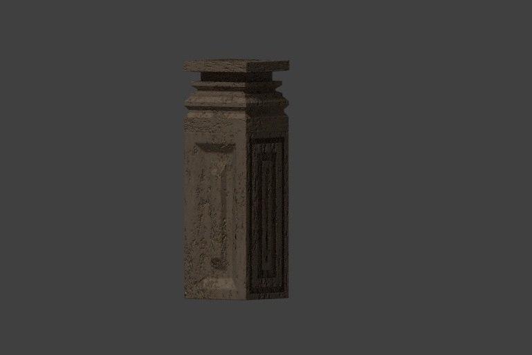 3D column simple