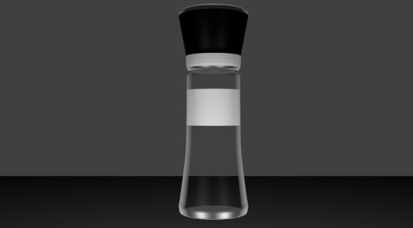3D salt moulin sel