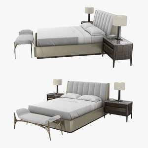 bedroom furniture bed 3D