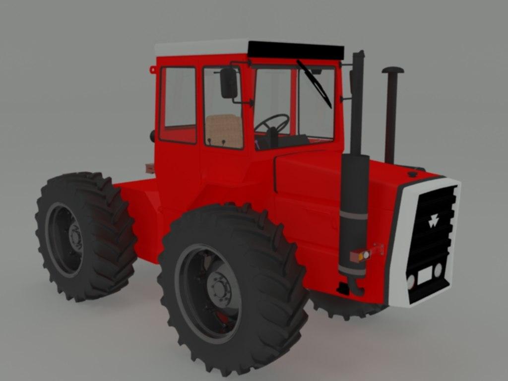 tractor 1200 3D model