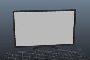 led tv 3D model