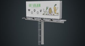 billboard advertising 3D