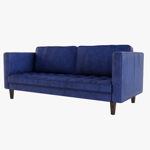 3D sofa solo
