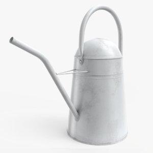 white watering 3D model