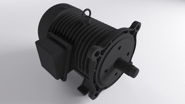 ac motor 3D model
