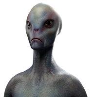 3D alien character