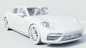 2018 porsche panamera turbo-s model