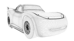 lighting mcqueen 3D model