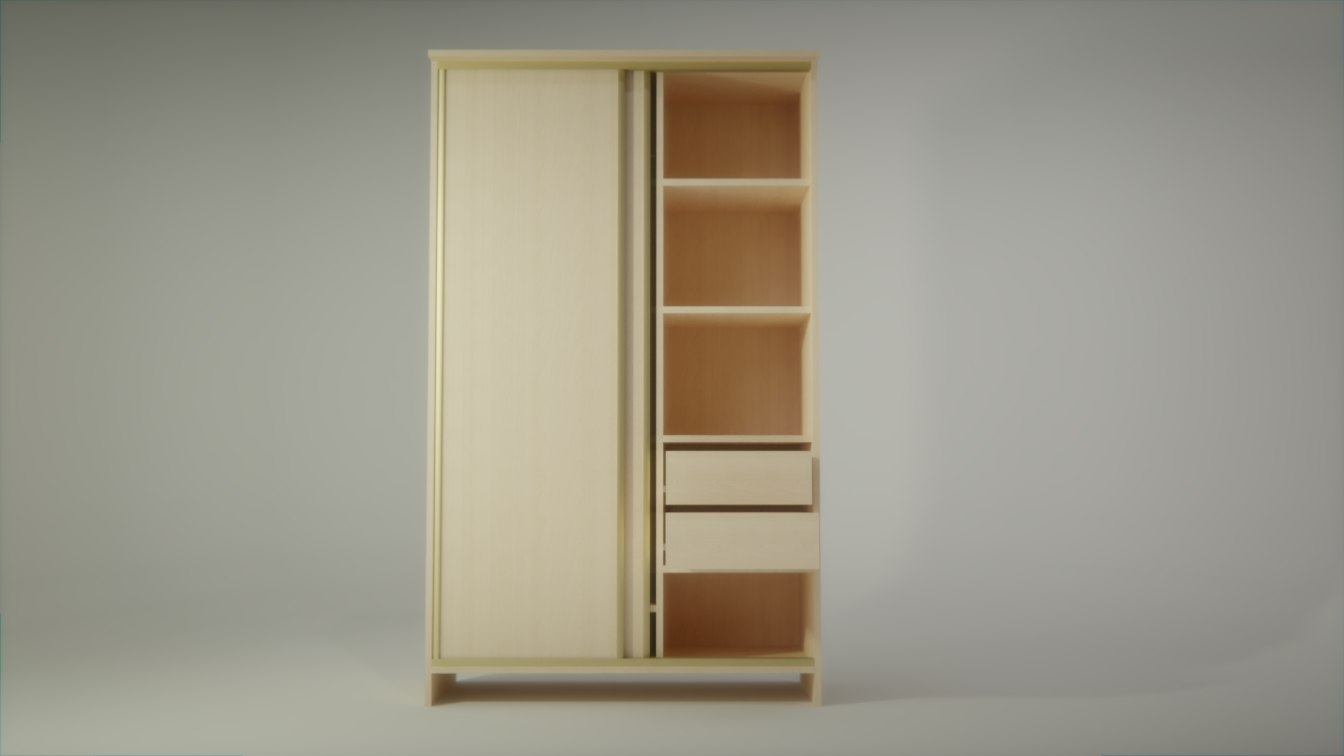 3D closet furniture