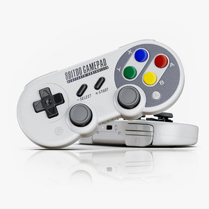 bitdo gamepad sf30 pro 3D model