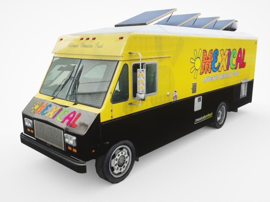 dx20 custom food truck model
