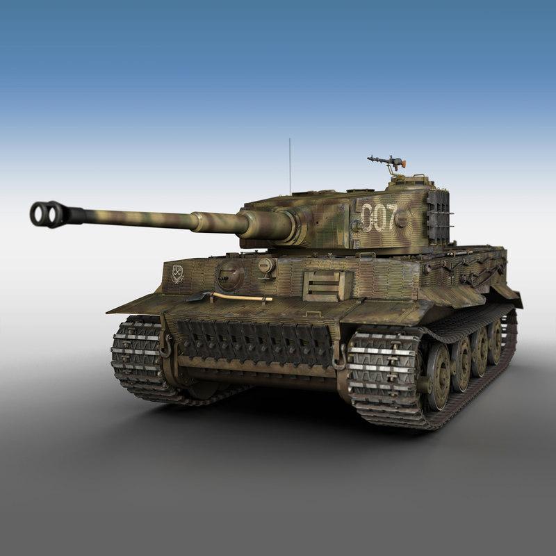 sd panzerkampfwagen vi - model