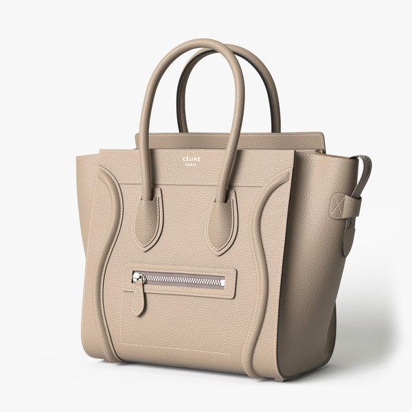 celine luggage handbag model