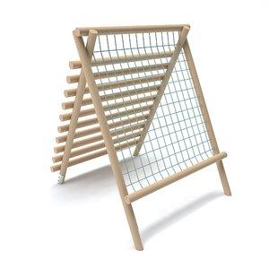 3D wooden playground
