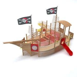ship playground medium model