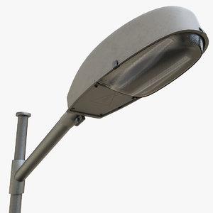 3D street lamp post model