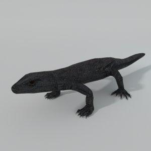 komodo dragon 3D