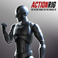 action rig character 3D