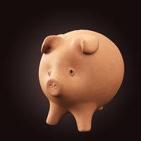 piggy bank pbr model