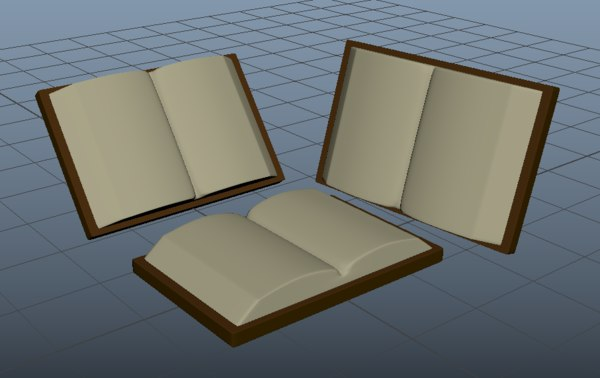 small book 3D