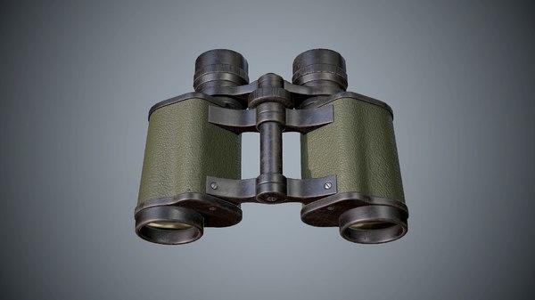 binocular eyewear model