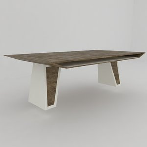 3D modern coffee table