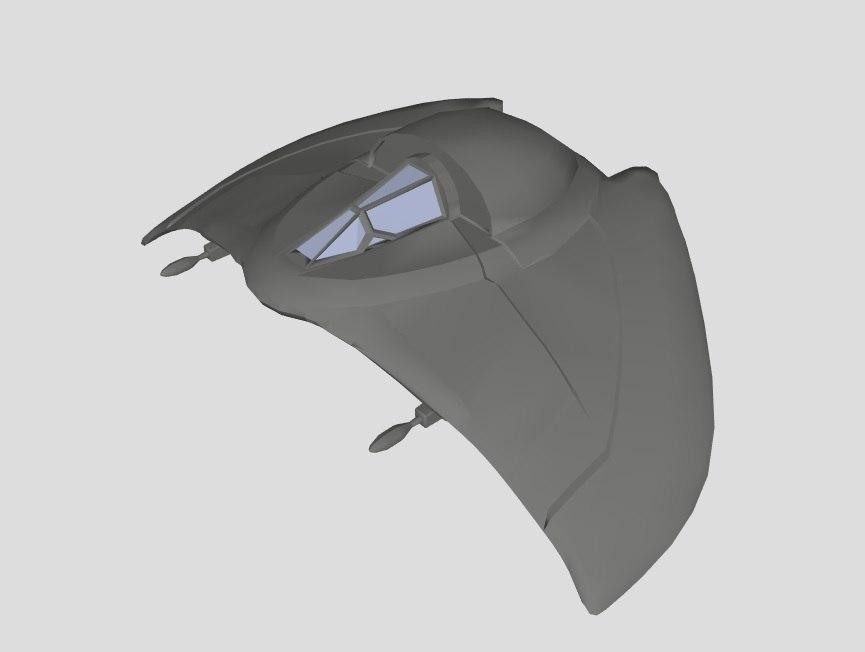3D deathglider stargate sg1