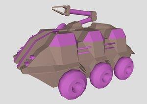 3D malp stargate sg1 model