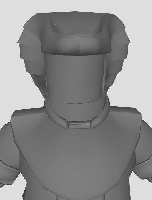 3D jaffa armored