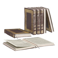 L3DV02G01 - old books collection with opened book bookmark set
