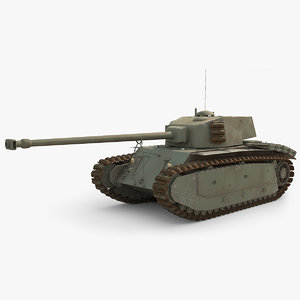 french arl 44 tank model