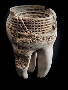 3D model teeth art