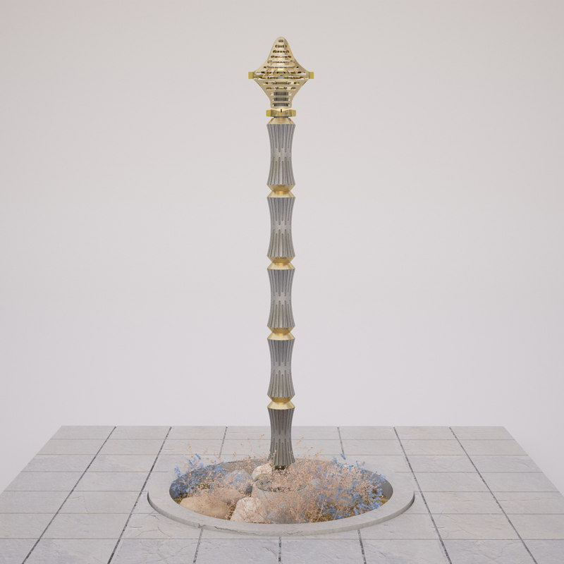 outdoor armature lamp model
