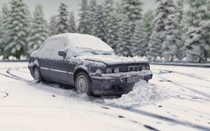 drift winter ready 3D model