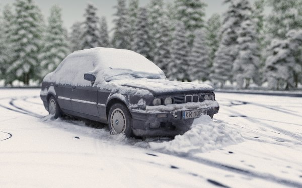 drift winter ready 3D model