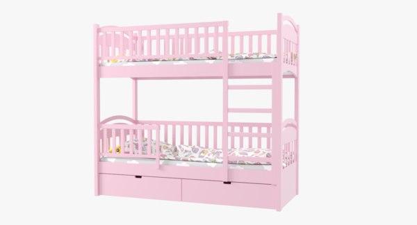 3D model bed child children
