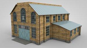 3D warehouse ready model