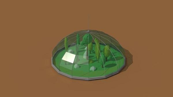 greenhouse 3D