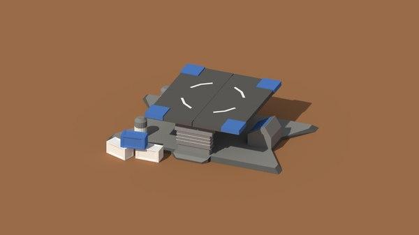 loading pad model