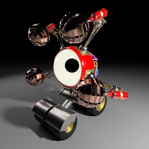 robot tank bot model